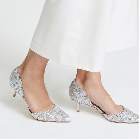 f713ec5179 Badgley Mischka Shoes | Ginny Dorsay Kitten Heels | Poshmark
